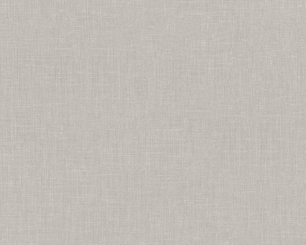 Meridith Faux Fabric Wallpaper in Beige and Grey by BD Wall