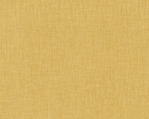 Meridith Faux Fabric Wallpaper in Yellow by BD Wall