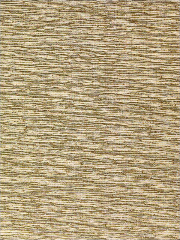 Metallic Weaved Stripes Wallpaper in Golden from the Sheer Intuition Collection by Burke Decor