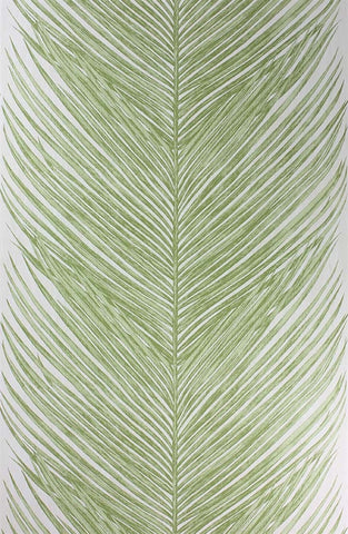 Mey Fern Wallpaper in Green by Nina Campbell for Osborne & Little