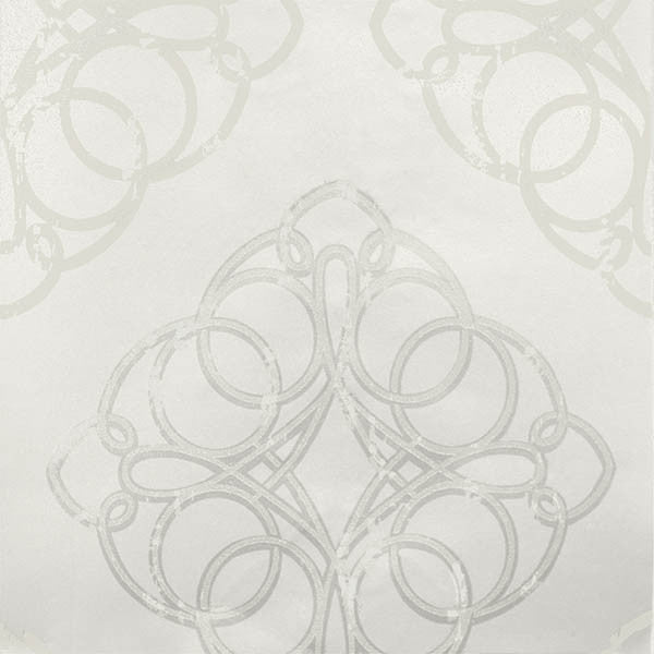 Mikhaila Grey Medallion Wallpaper from the Venue Collection by Brewster Home Fashions