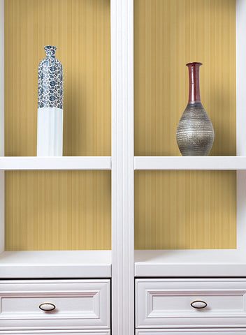 Mini Multi-Tone Stripe Wallpaper in Pale Aqua design by York Wallcoverings