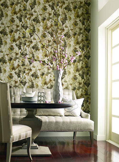 Mirage Wallpaper design by Candice Olson for York Wallcoverings