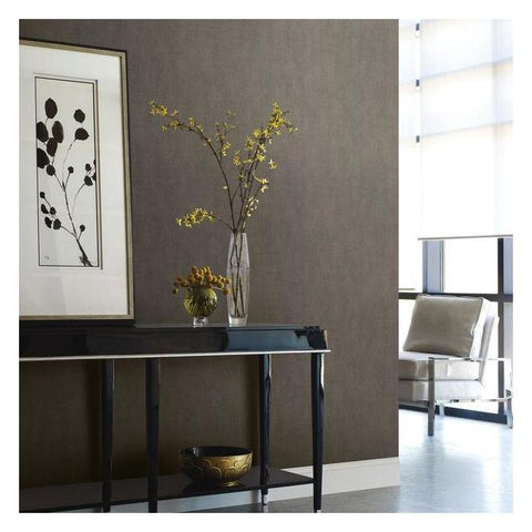 Mirage Wallpaper in Charcoal from the Urban Oasis Collection by York Wallcoverings