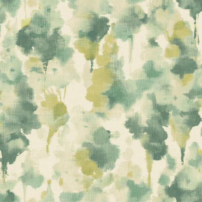 Mirage Wallpaper in Aqua design by Candice Olson for York Wallcoverings