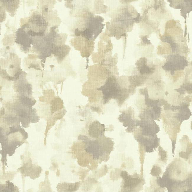 Sample Mirage Wallpaper in Grey design by Candice Olson for York Wallcoverings