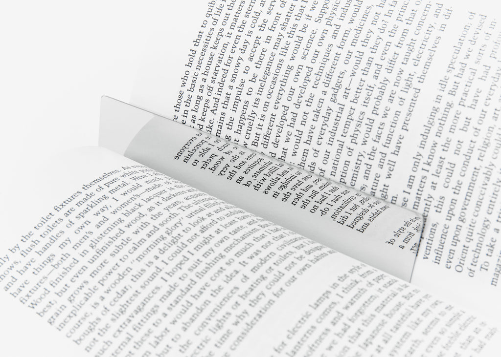 Mirror Bookmark design by Areaware