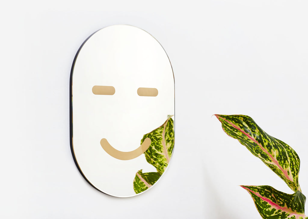 Yes Mirror Mask design by Areaware