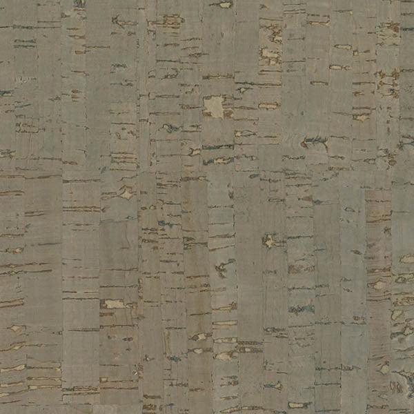 Misha Dark Grey Cork Wallpaper from the Jade Collection by Brewster Home Fashions
