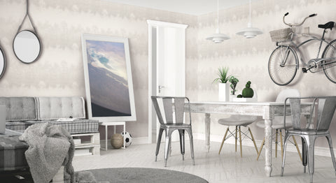 Mist Wallpaper from the Aerial Collection by Mayflower Wallpaper