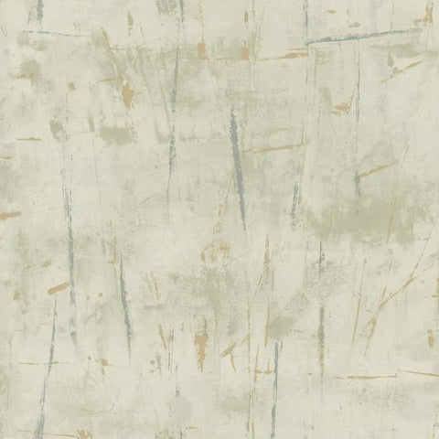Modern Art Wallpaper in Silver from the Botanical Dreams Collection by Candice Olson for York Wallcoverings