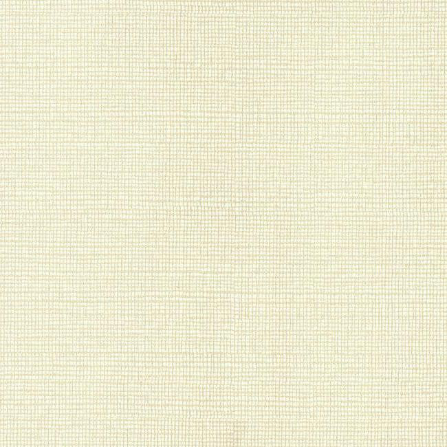 Sample Modern Linen Wallpaper in Ivory and Cream design by York Wallcoverings