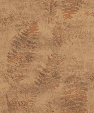 Modern Nature Wallpaper in Brown and Beige from the Loft Collection by Burke Decor