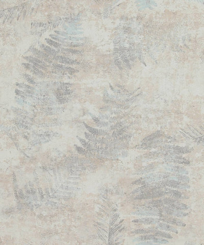 Modern Nature Wallpaper in Grey and Beige from the Loft Collection by Burke Decor