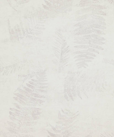 Modern Nature Wallpaper in White and Grey from the Loft Collection by Burke Decor