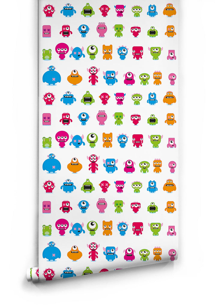 Sample Monsters Wallpaper by Muffin & Mani for Milton & King