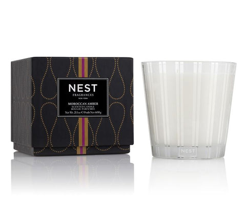 Moroccan Amber 3-Wick Candle design by Nest