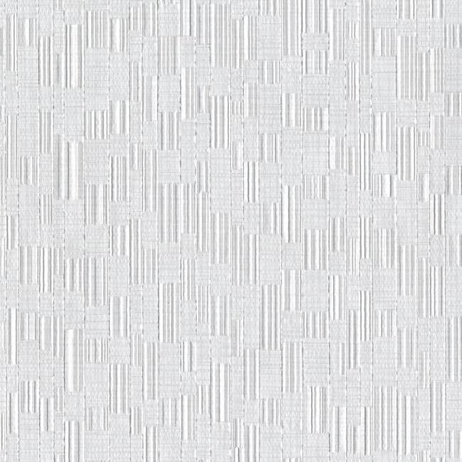 Sample Mosaic Weave Wallpaper in Grey from the Design Digest Collection by York Wallcoverings