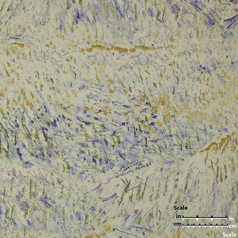 Multicolor Textured Wallpaper in Beige and Purple from the Van Gogh Collection by Burke Decor