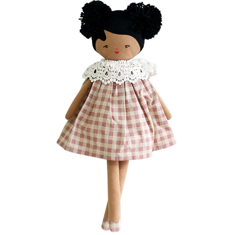 Aggie Doll - Rose Check