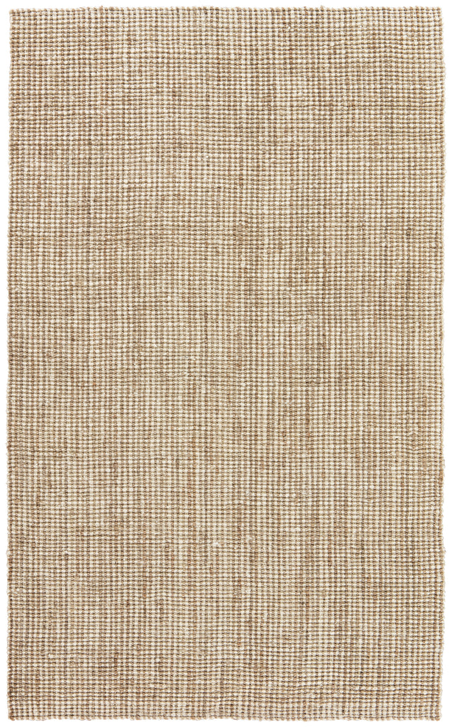 Mayen Natural Solid White & Tan Area Rug design by Jaipur Living