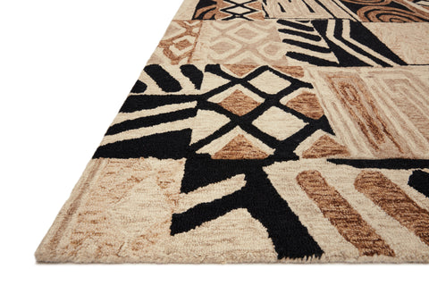 Nala Rug in Tobacco / Natural by Loloi