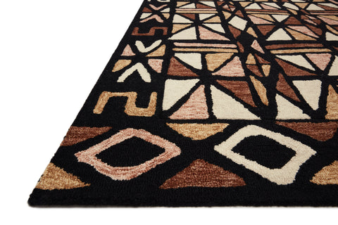 Nala Rug in Spice / Black by Loloi