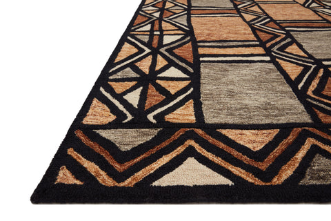 Nala Rug in Walnut / Multi by Loloi