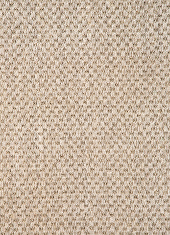 Naples Natural Solid White & Taupe Area Rug