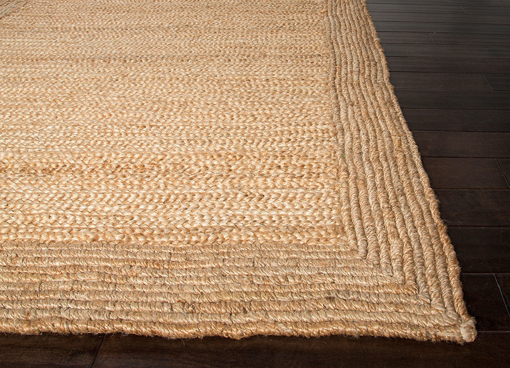 Naturals Tobago Collection Aboo Rug in Natural Silver design by Jaipur