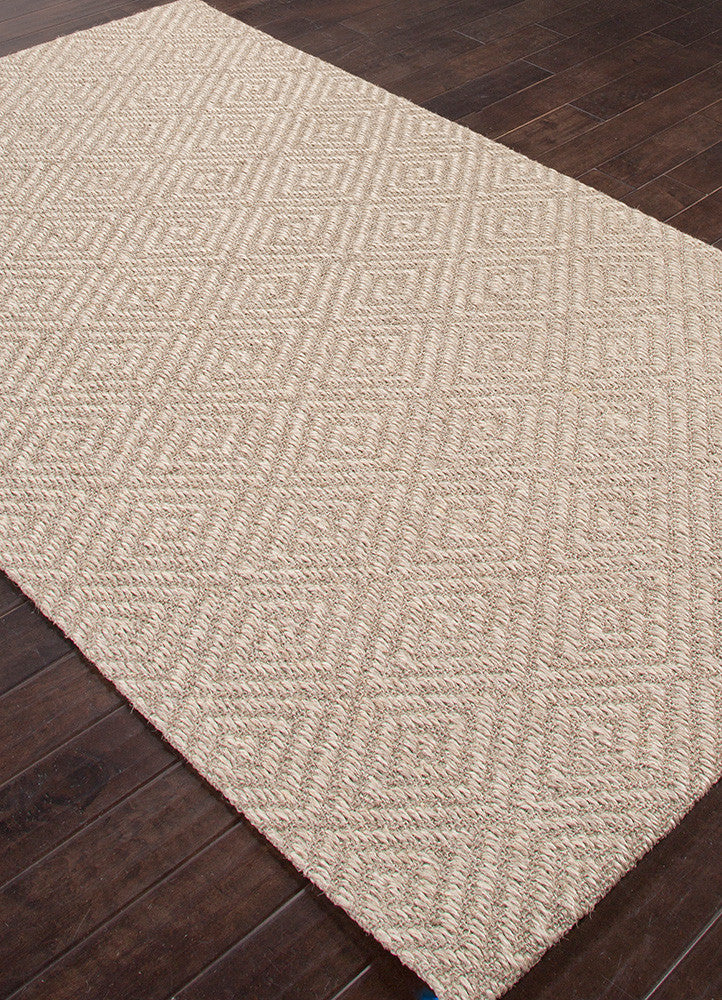 Naturals Tobago Collection Tampa Rug in Marble & Edge design by Jaipur