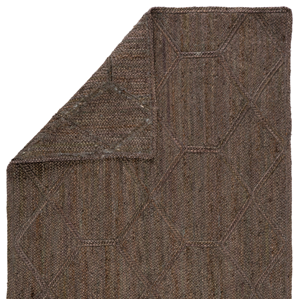 Ponce Natural Trellis Brown/ Gray Rug by Jaipur Living