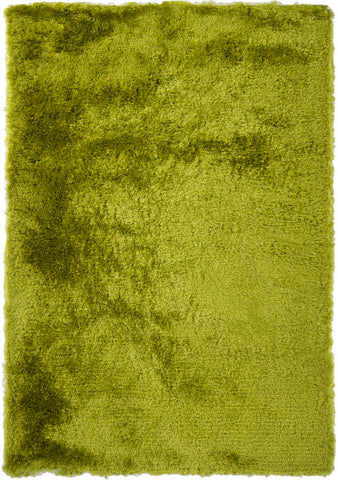 Naya Collection Hand-Woven Area Rug in Green
