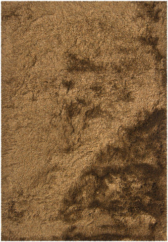 Naya Collection Hand-Woven Area Rug in Brown & Beige