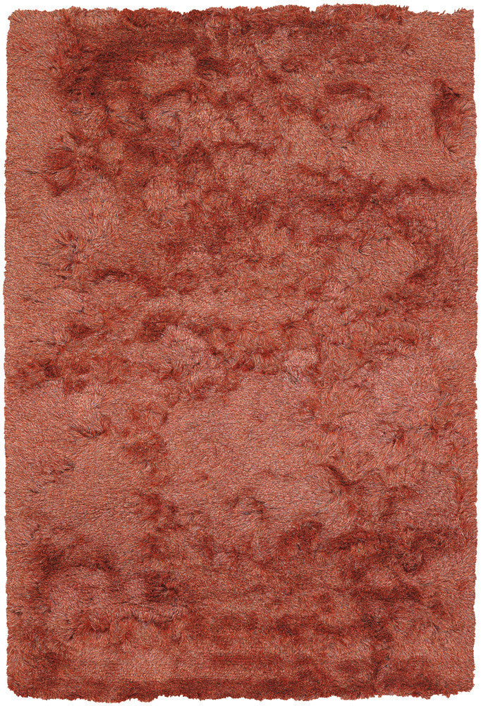 Naya Collection Hand-Woven Area Rug in Orange & Beige design by Chandra rugs