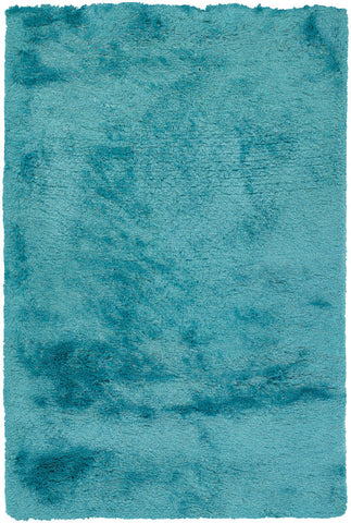Naya Collection Hand-Woven Area Rug in Blue