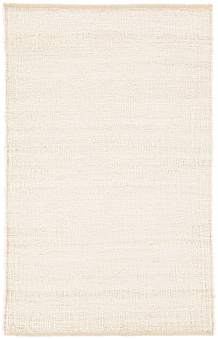 Anthro Natural Solid Cream Area Rug
