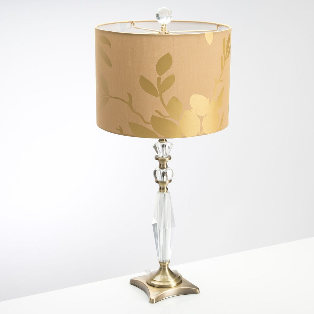 Golden Leaf Table Lamp Design By Couture Lamps BURKE DECOR