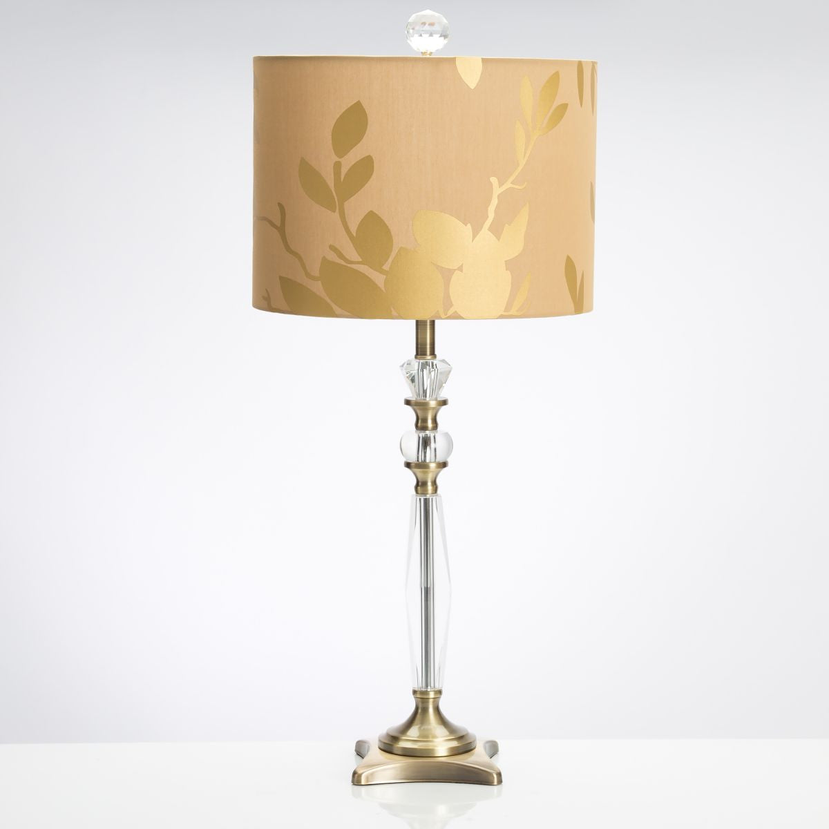 Golden leaf table lamp design by couture lamps burke decor golden leaf table lamp design by couture lamps aloadofball Image collections
