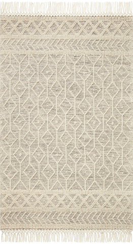 Noelle Rug in Ivory / Black by Loloi II