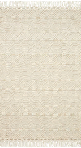 Noelle Rug in Ivory / Ivory by Loloi II