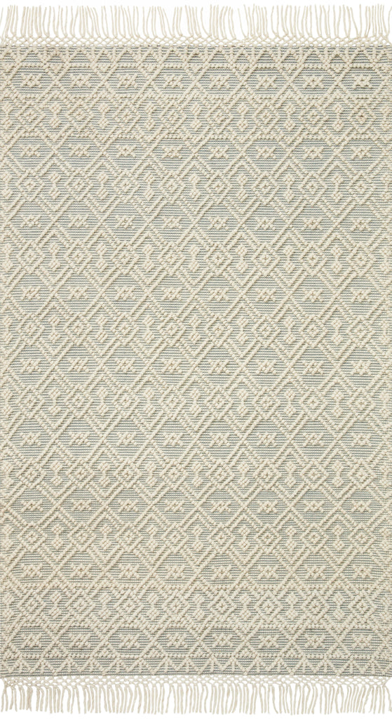 Noelle Rug in Ivory / Blue by Loloi II