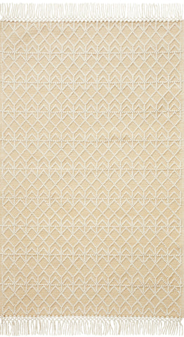 Noelle Rug in Ivory / Gold by Loloi II