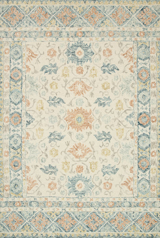 Norabel Rug in Ivory / Multi by Loloi