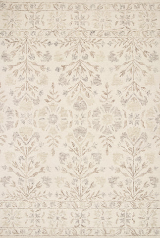 Norabel Rug in Ivory / Neutral by Loloi