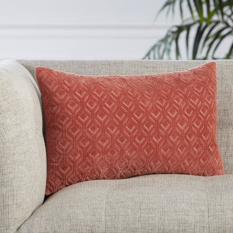 Colinet Trellis Pillow in Pink by Jaipur Living