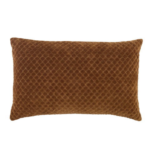 Rawlings Trellis Pillow in Brown by Jaipur Living