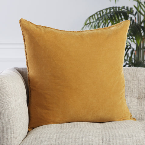 Sunbury Pillow in Gold by Jaipur Living