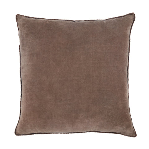 Sunbury Pillow in Dark Taupe by Jaipur Living