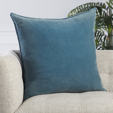 Sunbury Pillow in Blue by Jaipur Living